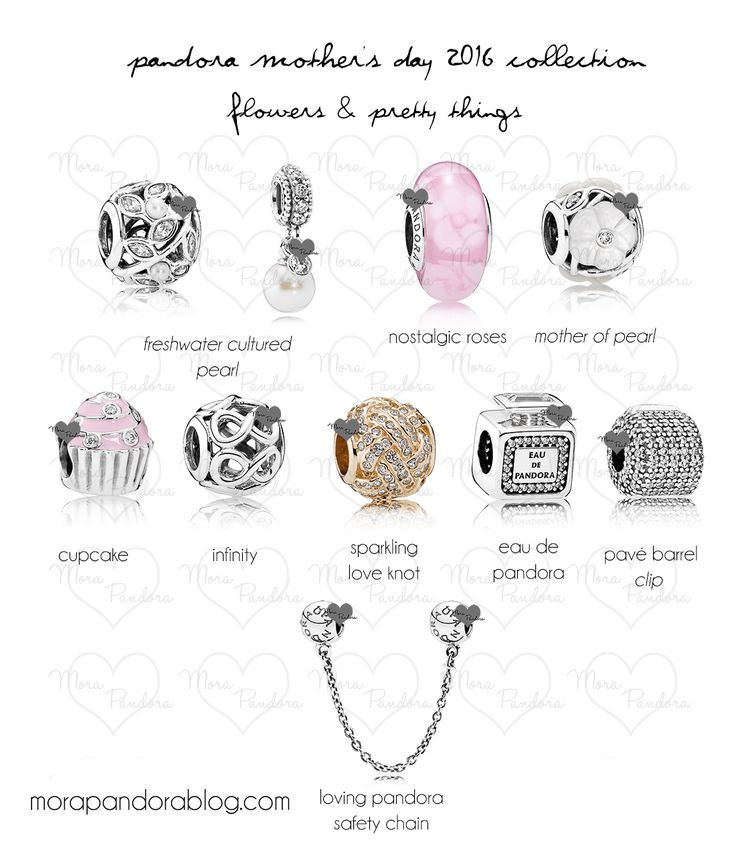 Pandora Mother's Day 2016 Preview - pretty things and flowers