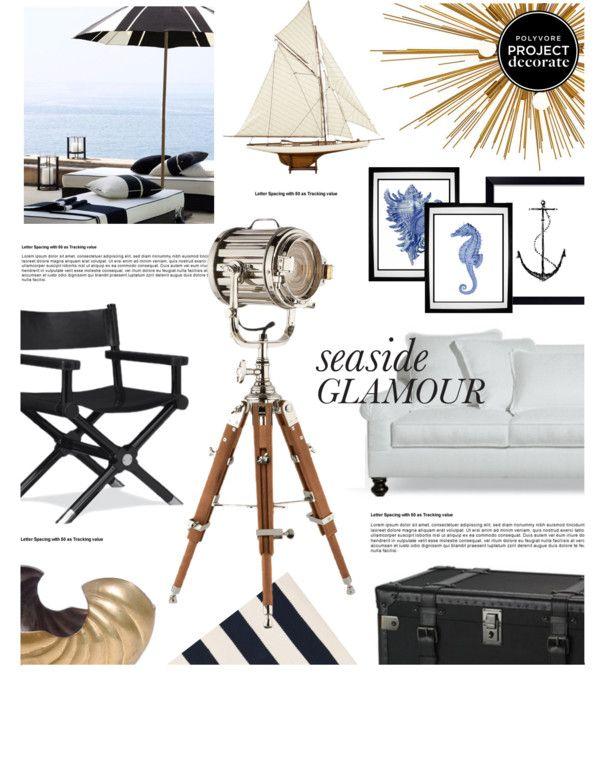 """Seaside Glamour"" by mariinadenisova on Polyvore"