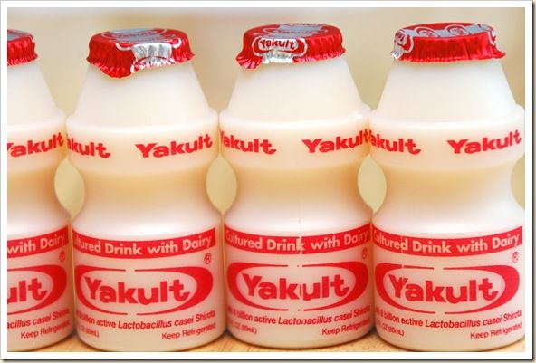A favorite drink of Thomas and Lexa is Yakult