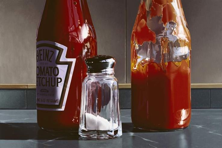 RALPH GOINGS Double Ketchup | 2006 | 22 x 32.75 | edition of 30
