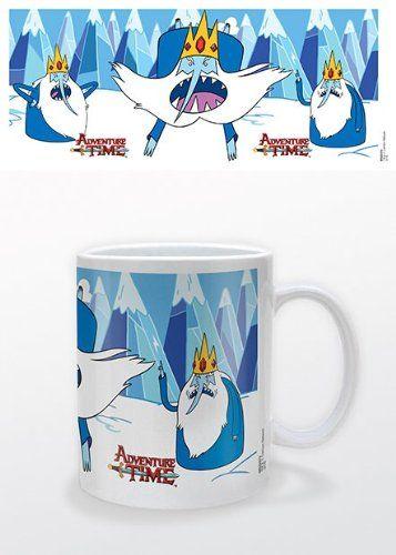 Adventure Time With Finn & Jake - Ceramic Coffee Mug (Ice King) @ niftywarehouse.com #NiftyWarehouse #AdventureTime #TVShow #Cartoon #Show #CartoonNetwork
