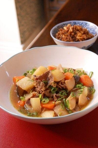 牛肉と大根とエリンギの生姜風味の煮物 by エリオットゆかりさん ...