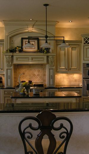 I Love The Warmth Of This Tuscan Style Kitchen...I Want