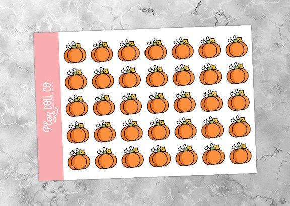 Printable Pumpkin Stickers | Autumn Stickers, Holiday Stickers, Season Stickers,…