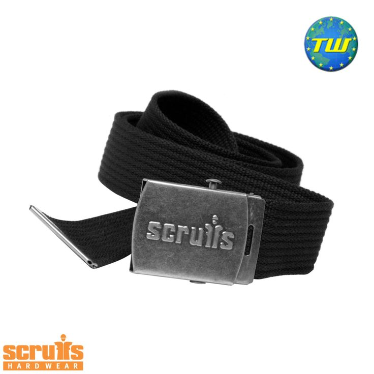 http://www.twwholesale.co.uk/product.php/section/10257/sn/Scruffs-Clip-Belt-T50304 Scruffs Clip Belt is a tough reinforced cotton belt with stylish 'distressed look' gun metal buckle. Embossed with Scruffs logo it is designed to fit Scruffs trousers and shorts.