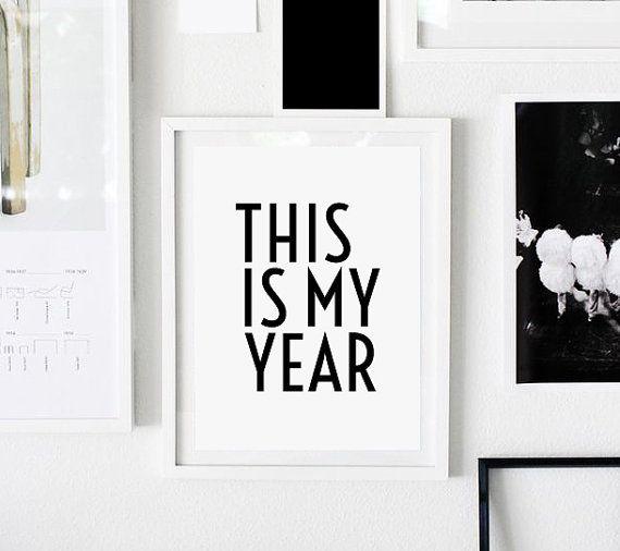 Motivation, qu'impression, c'est mon année, affiche de motivation, motivation devis devis impression, source d'inspiration nouvelle année impression, source d'inspiration