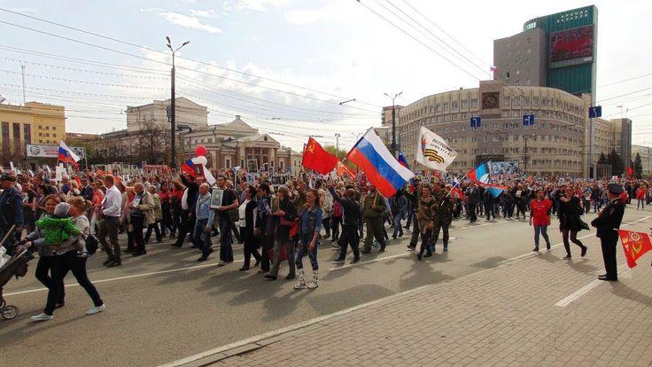 Das Unsterbliche Regiment / Tscheljabinsk Russland 9. Mai 2017 / 6