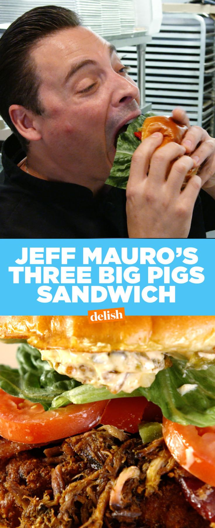 Jeff Mauro Created His Most Insane Sandwich Yet Just For Delish Fans