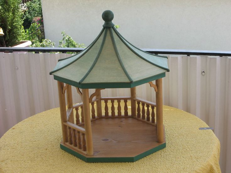 196 best doll house gazebo images on pinterest gazebo. Black Bedroom Furniture Sets. Home Design Ideas