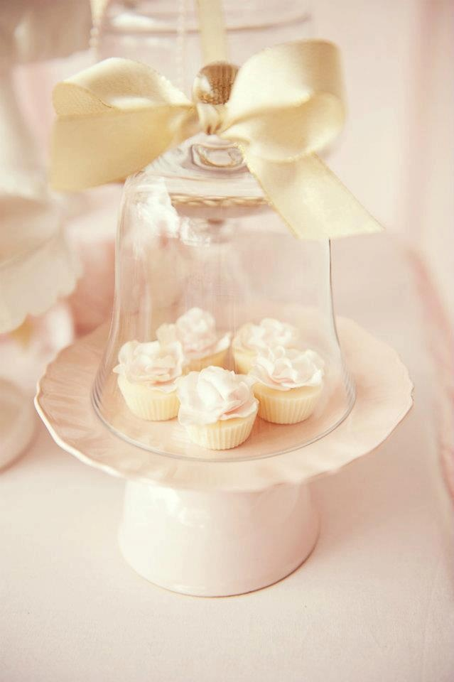 Little Big Company: pink and gold desserts by Avie & Lulu PUT THESE AT EACH TABLE INSTEAD OF A BIG CAKE