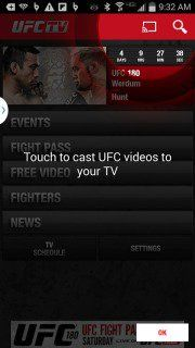 "Download free UFC TV Apps Free Sports Apk free mobile software.Watch UFC Pay-Per-View events and or subscribe to UFC FIGHT PASS for access to UFC Fight Nights"", the UFC Fight Library and Replays of past pay-per-view events, TV shows, and original content."