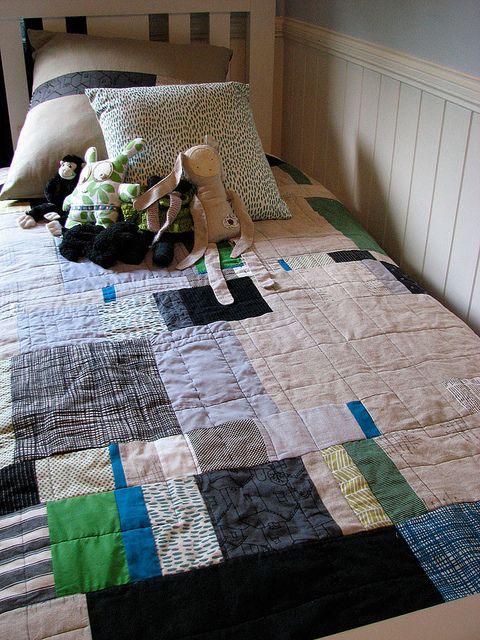 scrap quilt.