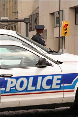 """Police officers often encounter mental health emergencies but """"should not be on the frontline on mental health issues,"""" says the Canadian As..."""
