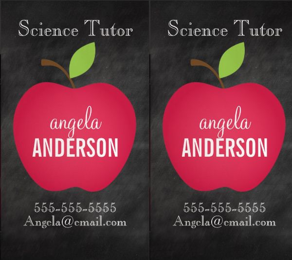 Best Cards Business Images On Pinterest Business Cards - Teacher business cards templates free