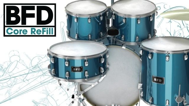 BFD Core ReFill for Propellerhead Reason 6+ - Half Price until October 20th 2014