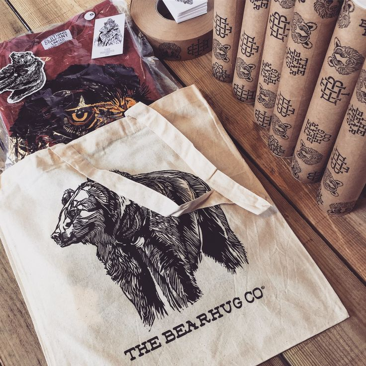 The Mystery Gift offer ends Tonight! Spend over £20 & we'll add a Freebie to your order - THEBEARHUG.com No code needed. #totebag #thebearhugco #eagle #lukedixon