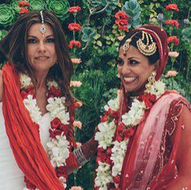 Indian Lesbian Wedding: A Beautiful Love Story - bollywoodshaadis.com