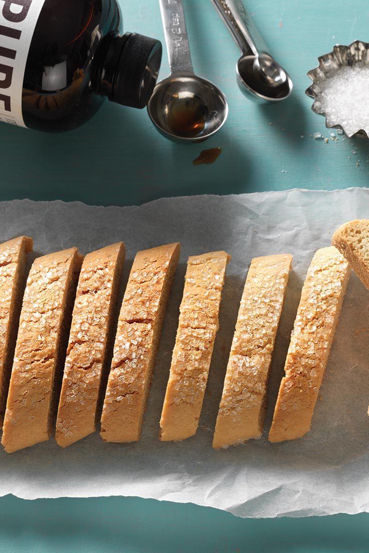 American-Style Vanilla Biscotti Recipe - use GF flour
