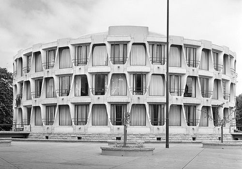 US Embassy in Dublin by John M. Johansen: Brutalist Architecture Ireland, Embassi Architecture, 70S Architecture, Mcm Architecture, L Architecture, Embassi Dublin, Architecture Gini, House Dublin, Johansen 1964