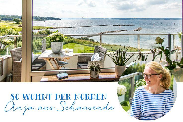 So wohnt der Norden: Anjas Paradies in Schausende - Förde Fräulein Homestory Skandinavisch Scandi-Style weiss dänisch Meerblick Ostsee Förde Holnis flensburg Glücksburg