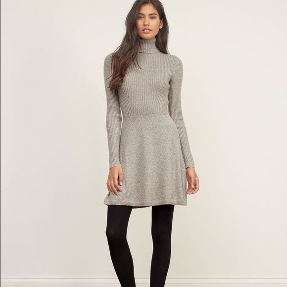 Turtleneck sweater dress Worn once Abercrombie & Fitch Dresses Long Sleeve