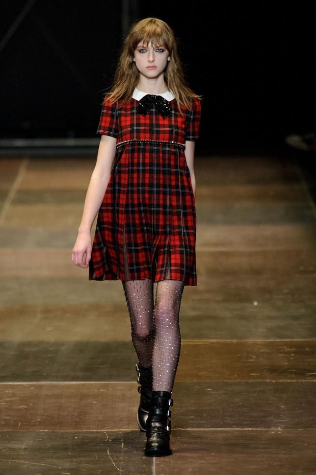 Saint Laurent A/W '13 --- babydoll madness