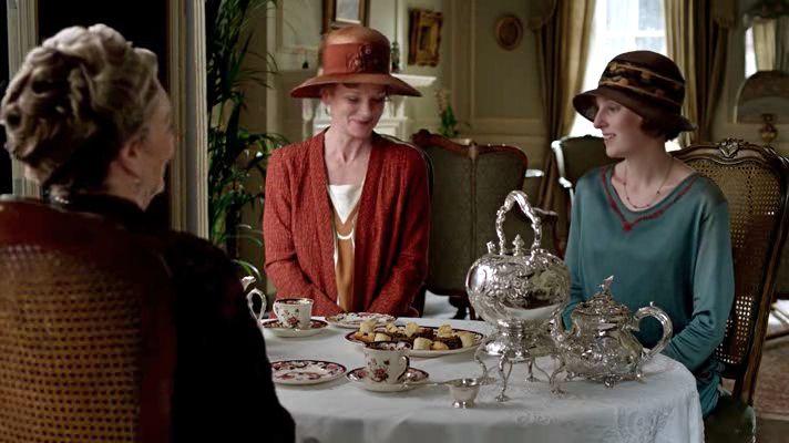downton abbey afternoon tea scene - Google Search | ダウントン ...