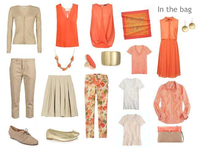 Capsule Wardrobe Examples | Tangerine Dream Capsule Wardrobe | broken poet