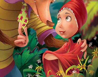"""Check out new work on my @Behance portfolio: """"Unpublished (Little Red riding hood pop up)"""" http://on.be.net/1Pxs8Tv"""