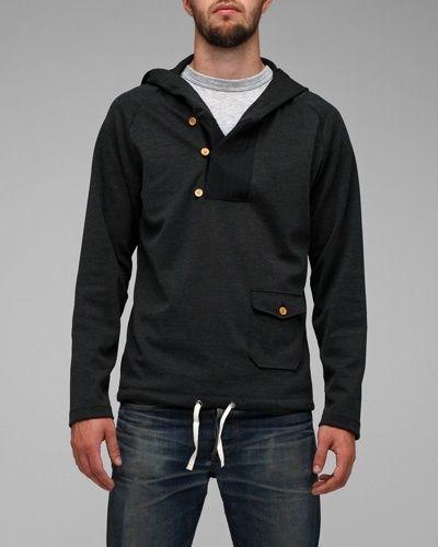 Brit 3 button hoodie: From Need Supply.  Fashion, menswearButtons Hoodie, Men Clothing, Fashion Men, Buttons Men, Boys Style, Cool Hoodies Men, British, Yum Men Fashion, Style Fashion