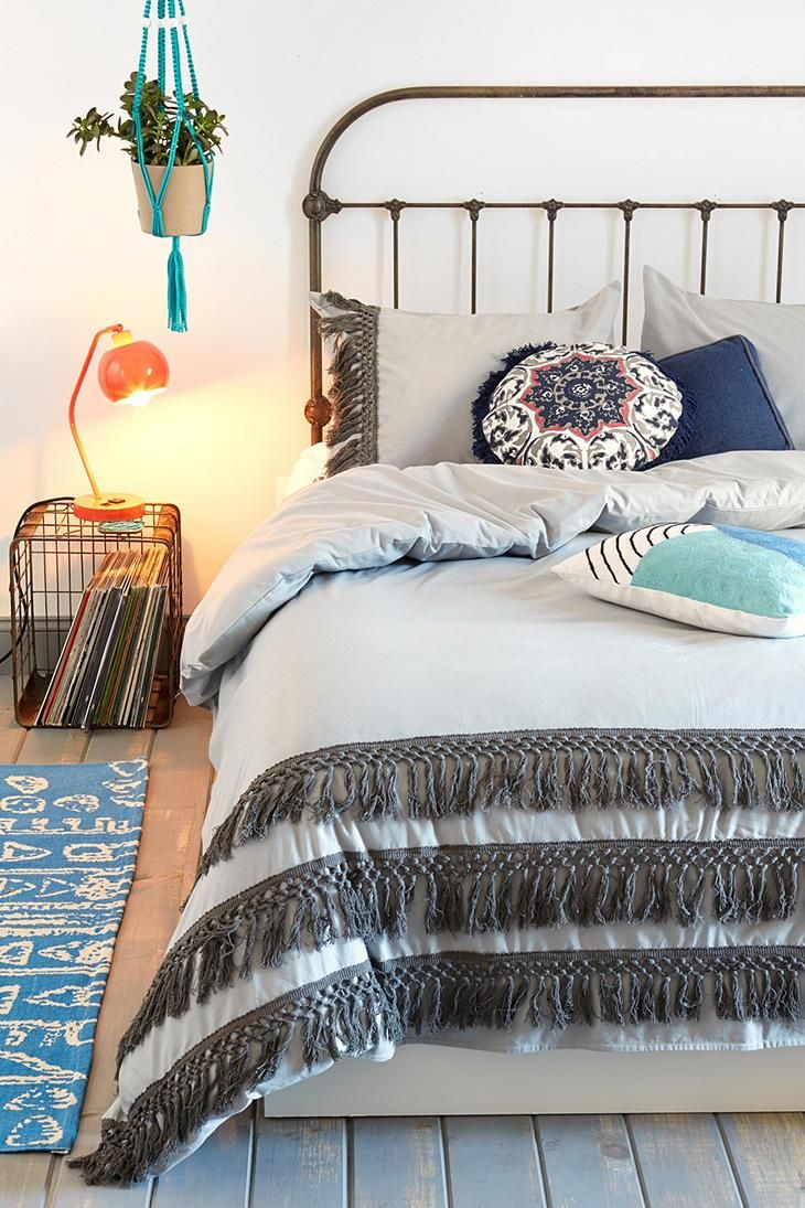 Magical Thinking Tassel Duvet Cover #urbanoutfitters #bedroom