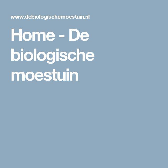 Home - De biologische moestuin