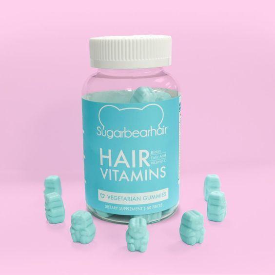 Gummy hair vitamins
