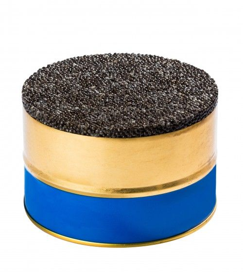 Caviar de Neuvic - Produced in Dordogne. A must in caviar quality. After extraction, washing, hand sieving and color grading, in a series of meticulous operations reminiscent of the world of high end jewelry, the unfertilized roe (sturgeon eggs) are stored in the original tin. These original tins contain the freshest caviar available. The Réserve quality is notable for the perfection of its pearls which are hand sorted by size, potency of aroma and texture retaining only the most precious…
