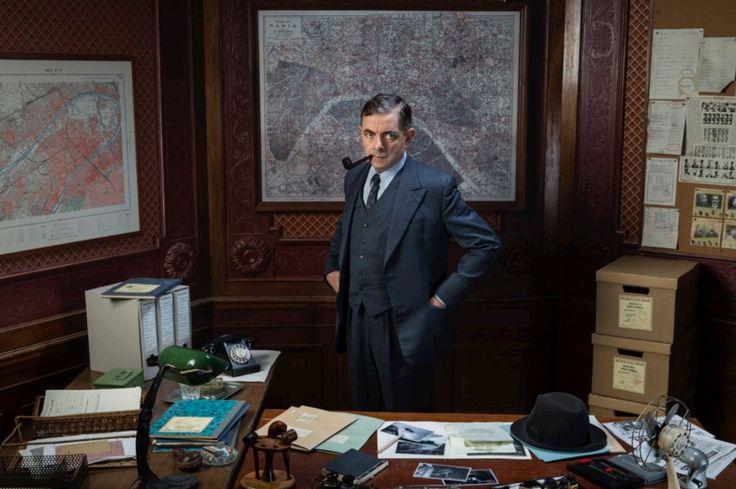"""""""Maigret Sets a Trap"""" Rowan Atkinson / Jules Maigret"""