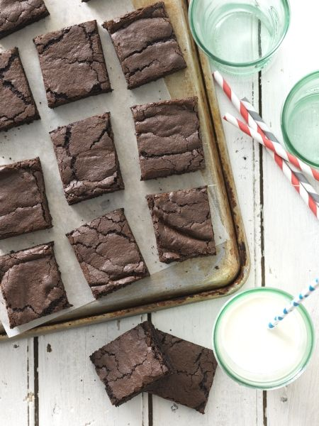 Quick and Easy Fudge Brownies | Recipe | Easy Fudge, Fudge Brownies ...