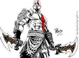 Resultado de imagen para dios kratos y su templo