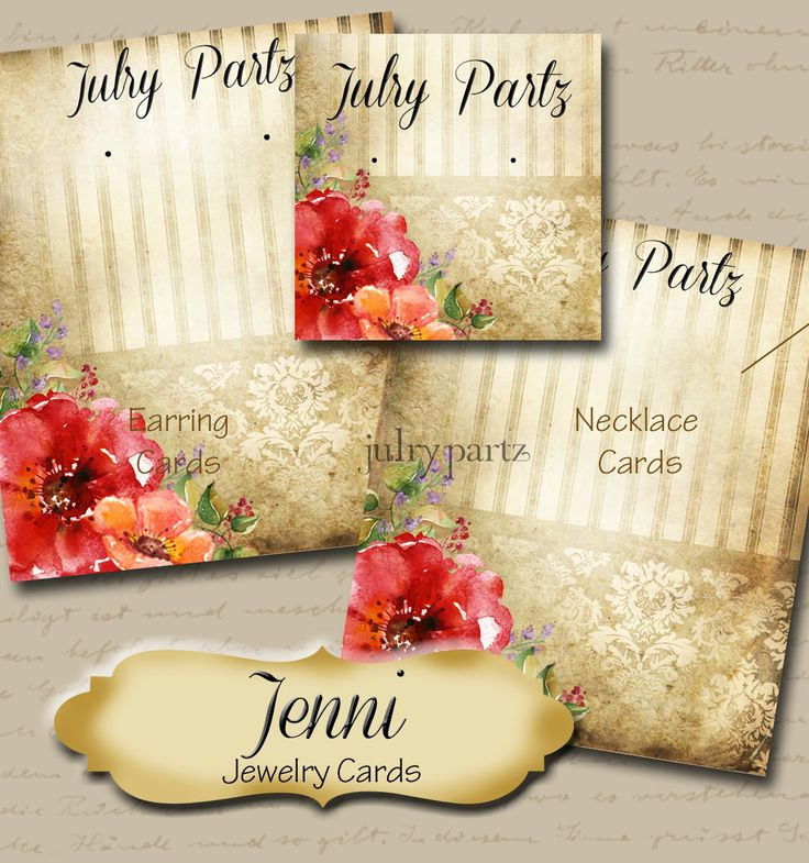JENNI•Custom Tags•Labels•Earring Display•Clothing Tags•Custom Hang Tags•Boutique Card•Tags•Custom Tags•Custom Labels by JulryPartZ on Etsy