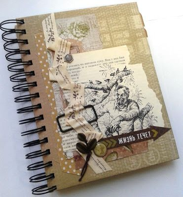 """Волшебный мир ручной работы от Glenna: Блокнот для записей """"Animal"""""""