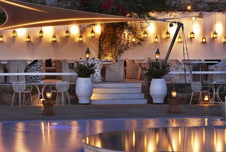 The best restaurant of Ios Island and one of the country's top choices for creative Greek cuisine - Enjoy Mediterranean recipes with a cosmopolitan twist, created by the multi-award winning celebrity chef Lefteris Lazarou.