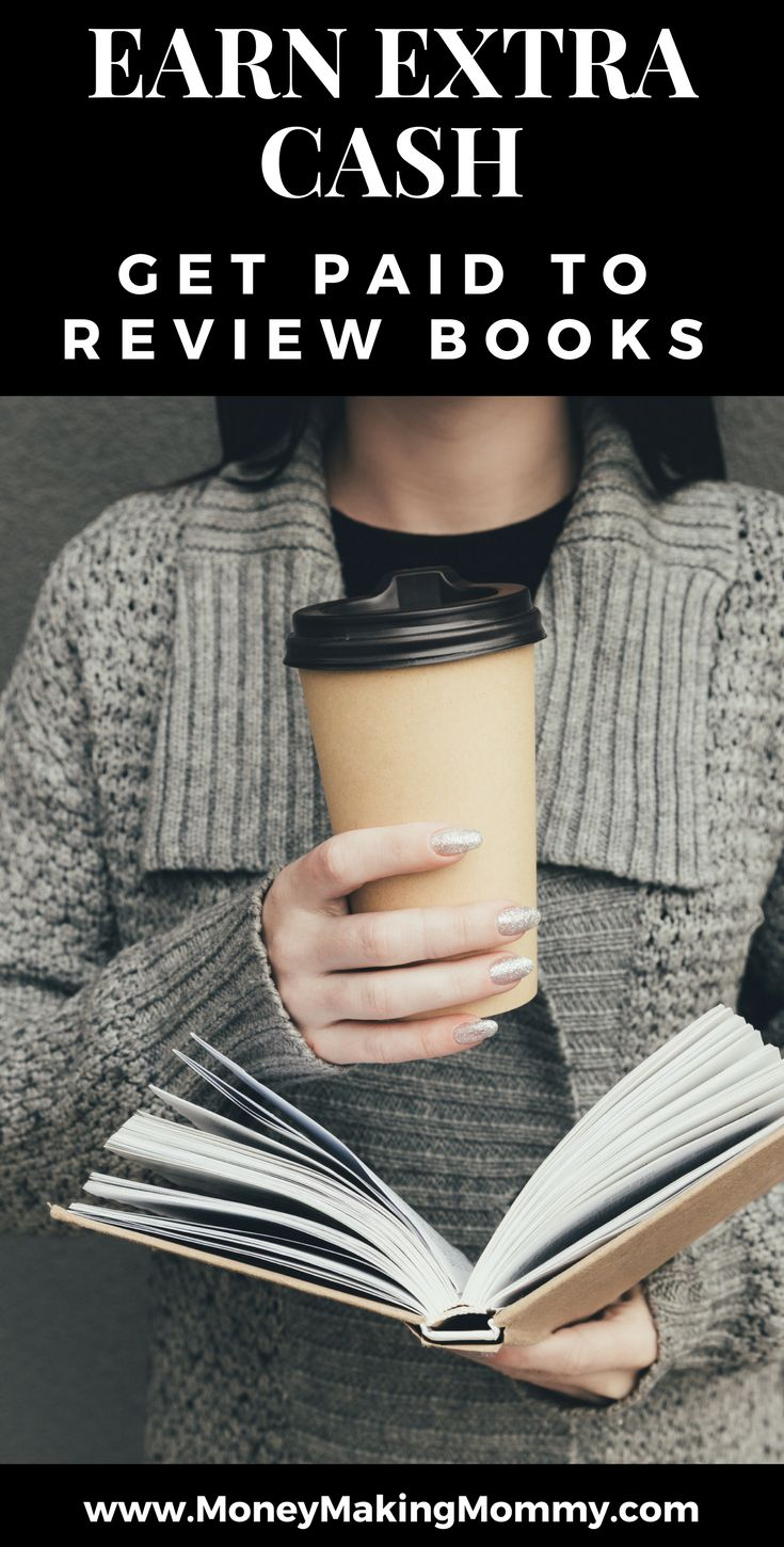 GET PAID TO READ BOOKS?! If you love books, then here are some ideas for making cash reading books, reviewing books and more!