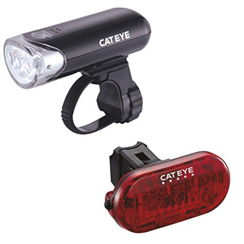 cateye bike light set