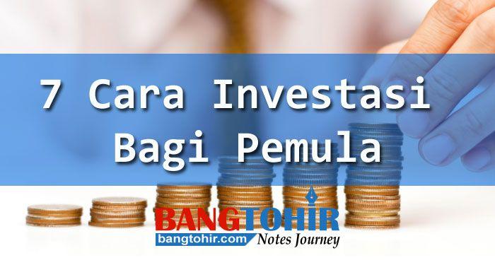 Ingin jadi investor sukses, berikut cara investasi bagi pemula agar bisa meraih keuntungan sesuai harapan.... pelajaran investasi bagi investor pemula