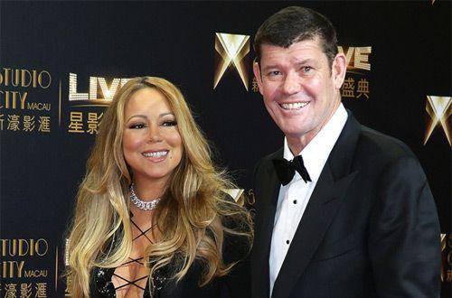 Певица Мэрайя Кэри обручилась с миллиардером Джеймсом Пакером