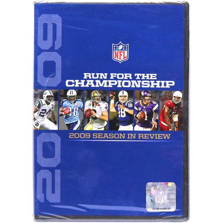 NFL Run for the Championship - The 2009 Season in Review DVD