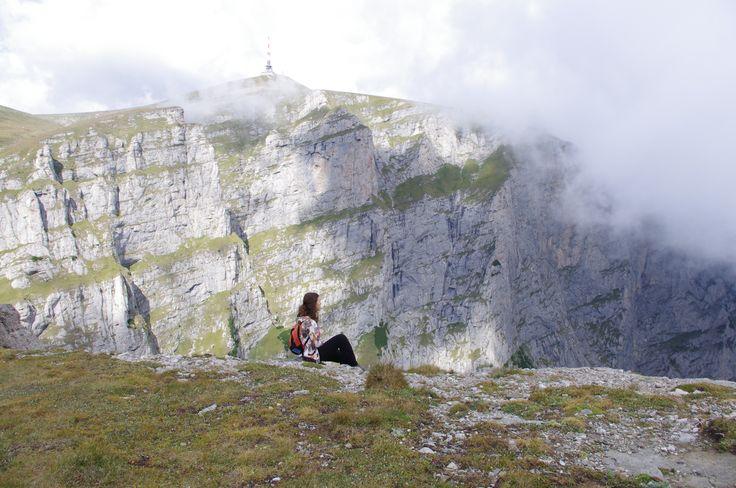 Costila Relay on Bucegi mountain top.