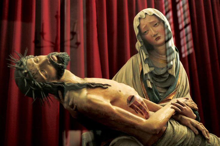 Pieta z kaplicy św. Reinholda w kościele Wniebowzięcia Najświętszej Marii Panny, około 1400