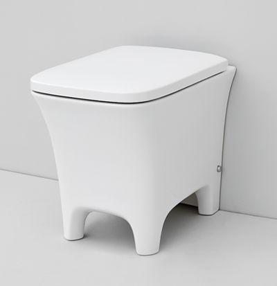 Cow, design Meneghello Paolelli Associati. #bagno #bathroom #design #Artceram back to wall WC