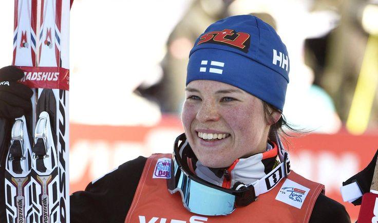Upeaa! Krista Pärmäkoski hiihti toiseksi Tourilla - Maastohiihto - Ilta-Sanomat