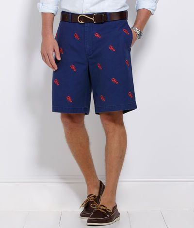 Vineyard Vines Lobster Embroidered Club Shorts My Style
